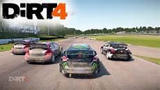 dirt 4 gameplay rallycross racing