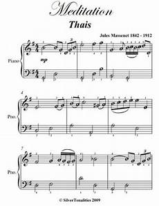 meditation easiest piano sheet music pdf ebook by jules massenet author