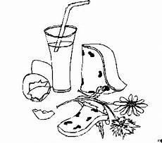 Gratis Malvorlagen Glas Glas Strohhalm Ausmalbild Malvorlage Essen Und Trinken