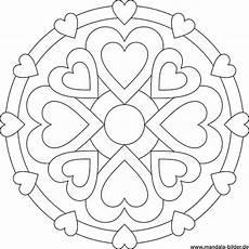 Ausmalbilder Zum Valentinstag Mandala Bilder
