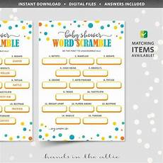 worksheets letter mix up 24280 word scramble baby shower printable word jumble puzzle unscramble letter mix up