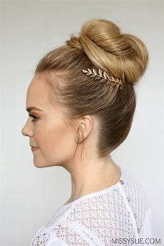 prom hair buns 3 easy prom hairstyles sue
