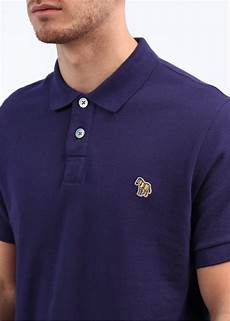 paul smith short sleeve polo shirt new purple