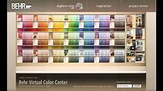 exterior paint color chart youtube