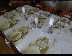 deco noel de table une d 233 co de table de no 235 l originale ape du cailar