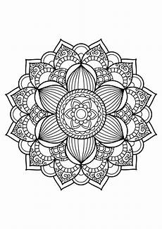 mandala from free coloring books for adults 17 m alas