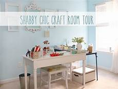hometalk shabby chic craft room tour