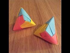 Coole Sachen Basteln - cool origami post it model