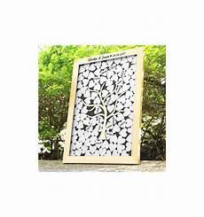 cadre livre d or livre d or cadre cœurs en bois livre d or tableau avec