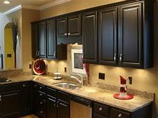 paint color that goes with dark cabinets kitchen paint colors with dark cabinets home furniture design