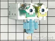 frigidaire 218658000 dual water inlet valve partselect ca