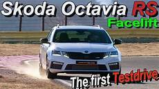 Skoda Octavia Rs Facelift The Testdrive