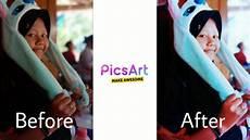 Tutorial Edit Foto Simple Dengan Aplikasi Pictsart