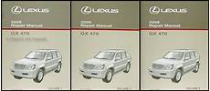 online car repair manuals free 2005 lexus gx user handbook 2003 2009 lexus gx 470 body collision repair shop manual original