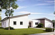 Moderne Bungalows Mit Pultdach - bungalow trio khc bautr 228 ger gmbh massivhaus de