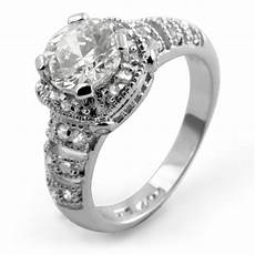 wedding anniversary unique engagement ring sterling silver cubic zirconia ebay