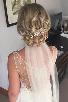 36 wedding hairstyles with veil my stylish zoo