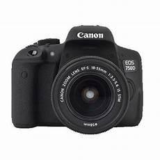 appareil photo objectif canon eos 750d appareil photo num 233 rique reflex 24 mp objectif 18 55 mm is stm achat vente