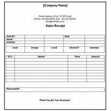 official payment receipt template sle pdf word excel template part