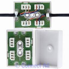 bt 77a junction box idc 1 6 wire telephone cable connection block repair joiner ebay