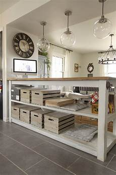 industrial kitchen island with storage from crates pallets bustamante