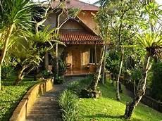 Desain Taman Gaya Bali Gambar Desain Rumah Minimalis