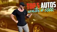 autos unter 5000 top 5