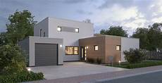 modernes haus im bauhausstil bauen ytong bausatzhaus