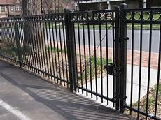 montage 174 ornamental steel fencing maintenance free