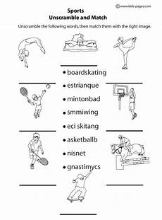 sports worksheets free 15797 16 best images of worksheets sports printable sports worksheets for sport language
