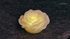 cera candela candela rosa luminosa in cera avorio led bianco caldo