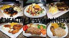 what s for dinner 8 quick and healthy dinner ideas youtube