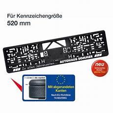 kennzeichenhalter mit logo kennzeichenhalter logoplus schwarz f 252 r kennzeichengr 246 223 e