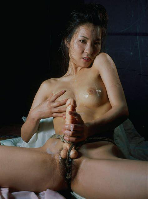 Asian Girl Hogtied