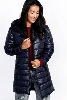 puffer coats winter on sale boohoo womens karlie look longline puffer coat quilted