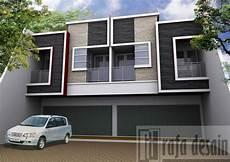 50 Model Desain Rumah Ruko Minimalis Modern 2 Lantai