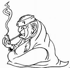 Indianer Malvorlagen Gratis Rauchender Indianer Ausmalbild Malvorlage Comics