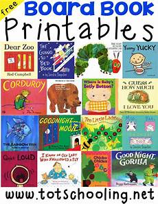 board book printables for toddlers