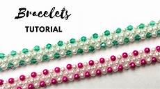 Diy Bracelets Easy Beading Tutorial 1 Beaded Pattern For