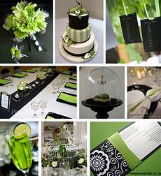 inspiration black and green weddings project wedding