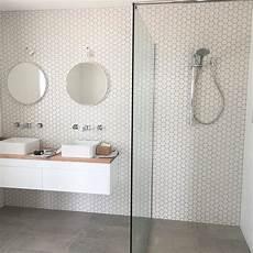 Bathroom Ideas Hexagon Tile by Best 25 Scandinavian Bathroom Ideas On