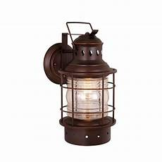 cascadia lighting nautical 12 in h burnished bronze