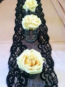 by shannon mayer daddy dance wedding decorations gothic wedding black lace table