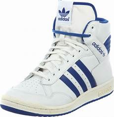 adidas pro conference hi shoes white blue