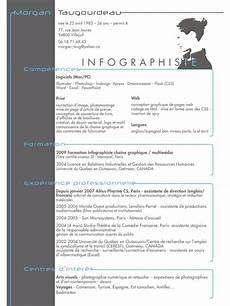 exemple de qualité resume format modele de cv canadien francais