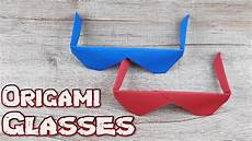 How To Make A Simple Glasses Model Tutorial Easy Origami