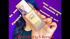 top 5 inspirations from lakme lakme 9 to 5 foundation review in hindi beauty n beyond