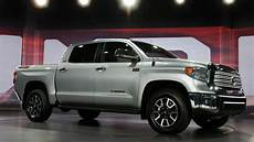 toyota introduces redesigned tundra cbs news