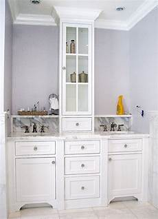 Custom Bathroom Vanity Pictures by Crafted Master Bath Vanity By The Woodworker S Studio