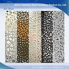 panneau decoratif aluminium metal aluminium perforated laser cut decorative panel with